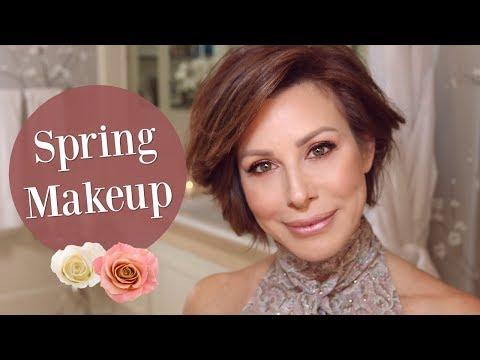 Dusty Rose Spring Trend Makeup Tutorial