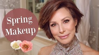 Dusty Rose Spring Trend Makeup Tutorial