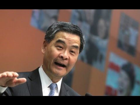 Leung Chun-ying delivers 2016 policy speech