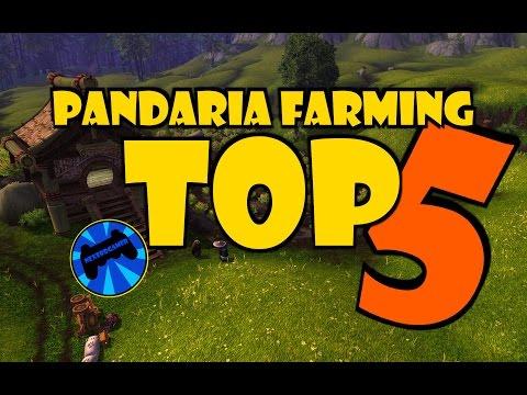 [TOP 5] BEST Pandaria Gold Farming Spots