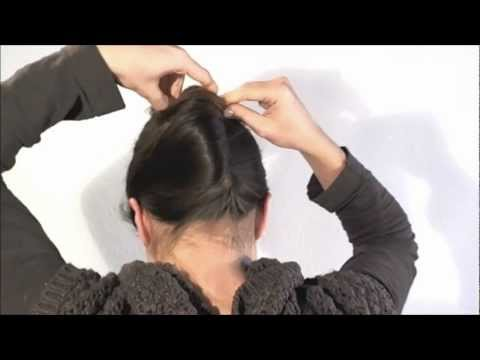 [Hairstyle] 1 minute french twist with a stick thumbnail