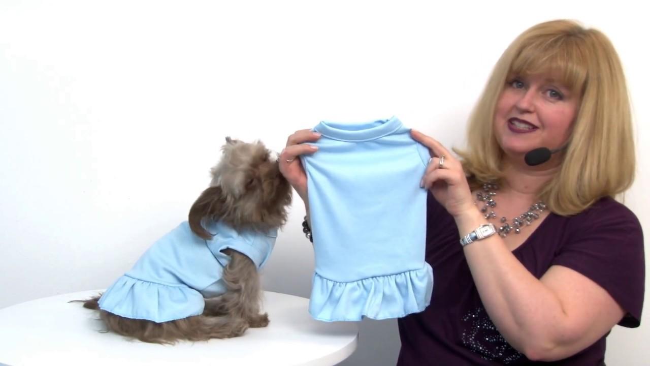 4c49e2183 Plain Dog Dress - Baby Blue - YouTube