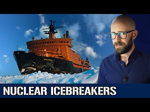 Nuclear Icebreakers: Russia's Atomic Fleet of Arctic Ice Bus