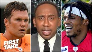 Stephen A.: Tom Brady will have a better season than Cam Newton | First Take