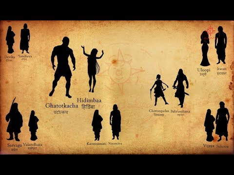 Pandava's Family | Wives And Children | Mahabharata Facts
