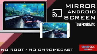 How To Mirror Android Screen to PC | No Chromecast | No Root | WiFi | USB