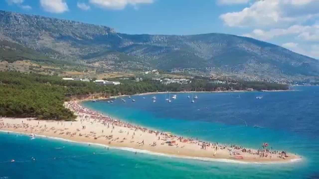 Zlatni Rat Beach Bol Brač Croatia