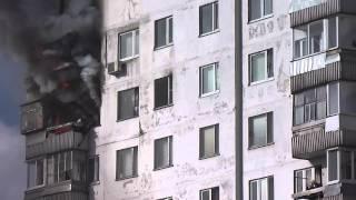 Пожар в Москве на улице Вильнюсская д.8, корп. 2