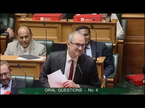 Question 4 - Hon Paul Goldsmith to the Minister of Transport