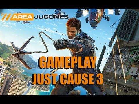 Gameplay Just Cause 3 - Areajugones