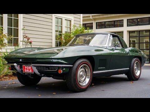 1967 Chevrolet Corvette Sting Ray Convertible