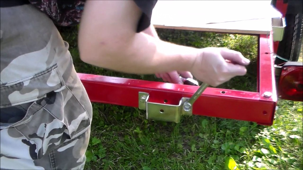Harbor Freight Trailer Build Part 3 Lights Brackets And