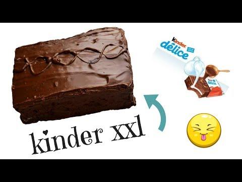 recette-kinder-dÉlice-xxl-❤-facile-et-rapide