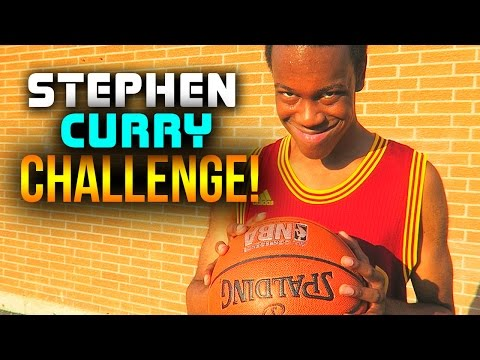 STEPHEN CURRY CHALLENGE!