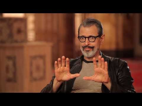 "The Grand Budapest Hotel: Jeff Goldblum ""Deputy Kovacs"" On Set Movie Interview"