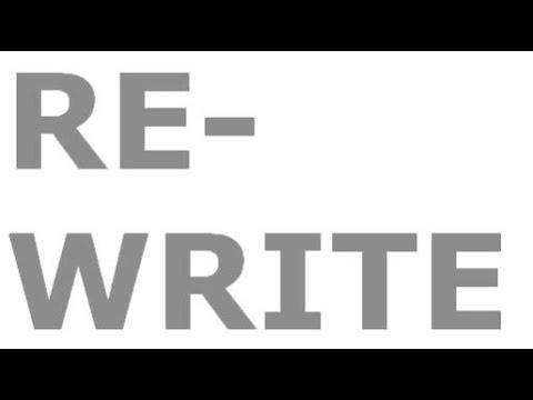 Rewrite articles