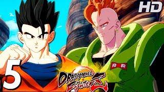 GOHAN VS ANDROIDE N°16 - Dragon Ball FighterZ en Español PARTE #5