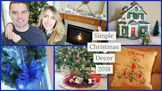 OUR SIMPLE CHRISTMAS DECOR 2018   MINIMALIST CHRISTMAS HOME TOUR & DECORATIONS