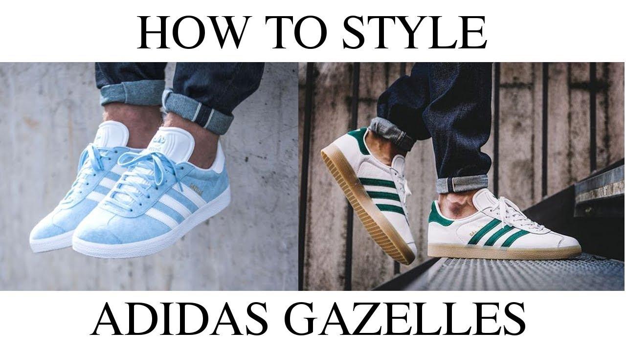 adidas gazelle 50 style