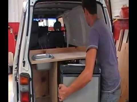 part-2---building-campervan-conversion-australia-kitchen-&-fridge-for-sale-or-hire