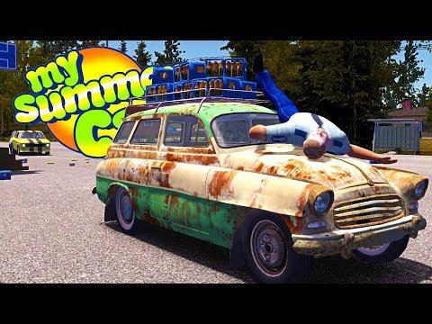MY SUMMER NEW CAR THEFT! STEALING SATAN'S NEW CAR! - My Summer Car Gameplay Highlights Ep 90