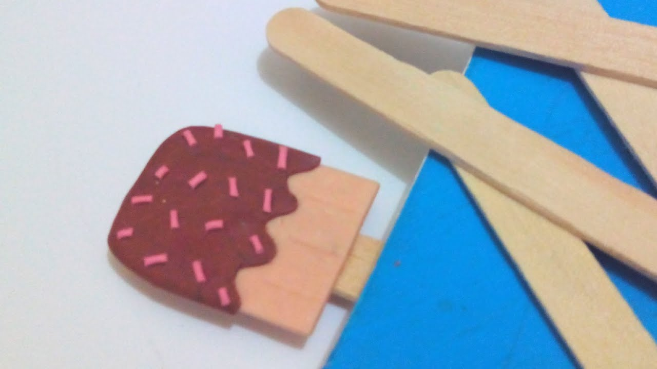 Make a cute ice cream pop bookmark diy crafts for Diy bookmarks for guys
