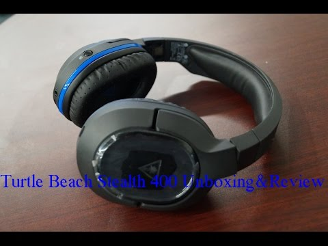 Turtle Beach Stealth 400 Unboxing&Review[PS4,Xbox,Pc,Mobile]