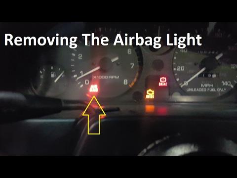 How To Remove A Miata Airbag Light Na
