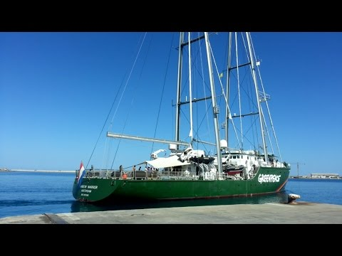 Greenpeace Rainbow Warrior  - new ship