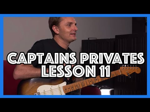 The Captain's Privates | JustinGuitar com