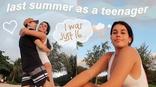 my last summer as a teenager... week in my hawaii life vlog