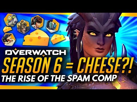 Overwatch | Rise Of The Cheese Comp - Season 6 Spam Meta Problems