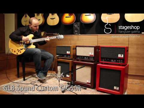 GLB Sound GIG50 amps comparison played by Bálint Gyémánt in Stageshop