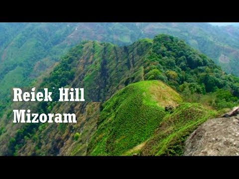 Reiek Peak in Aizawl, Mizoram