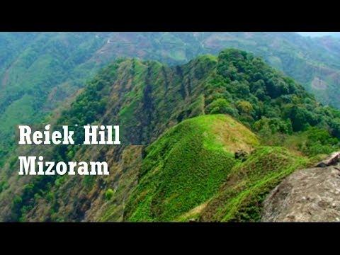 Reiek Peak in Aizawl, Mizoram