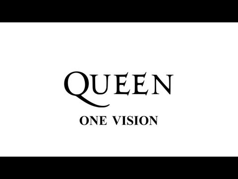 Queen  One vision  Remastered HD  with lyrics