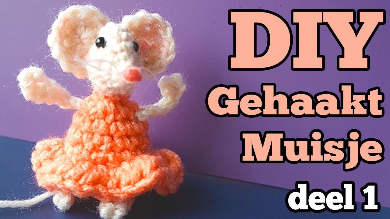 Leren Haken Amigurumi Muisje Maken Crochet A Long Deel 1 Haak Met