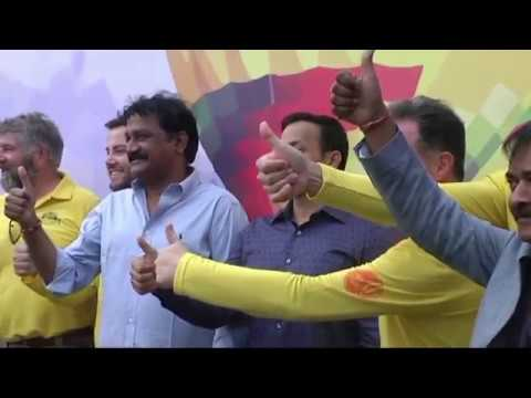 minister of Human Resources Development of Andhra Pradesh in India VIDEO 11