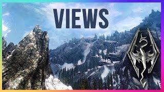Skyrim: Secret Hidden Location with an EPIC VIEW