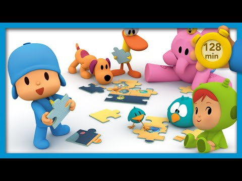 🎮 POCOYO AND NINA - Board Games [128 Min] | ANIMATED CARTOON For Children | FULL Episodes