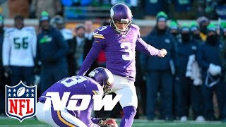 Do-Over: What If Blair Walsh Made The Game Winning FG? | Seahawks vs. Vikings | NFL Now