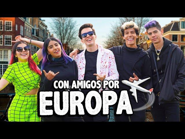 VIAJAMOS TODOS JUNTOS Y ESTO NOS PASO EN EUROPA | POLINESIOS VLOGS