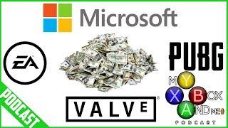 Microsoft Acquiring EA - Valve - PUBG Corp - My Xbox And ME Episode 117