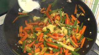 Soba Noodles With Peanut Sauce And Vegetables