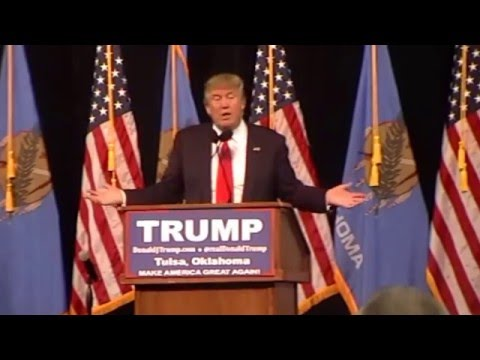 Donald Trump Presidential Campaign Rally at Mabee Center in Tulsa, Oklahoma