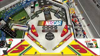 3D Ultra NASCAR Pinball Demo