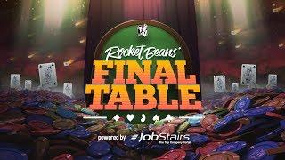 Final Table - Pokern bei den Rocket Beans unter anderem mit David Hain, fishc0p & Oliver Dombrowski