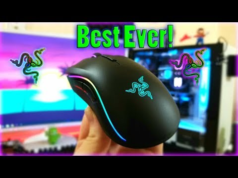 The Best Gaming Mouse Ever! NEW 2018 Razer Mamba Elite Review