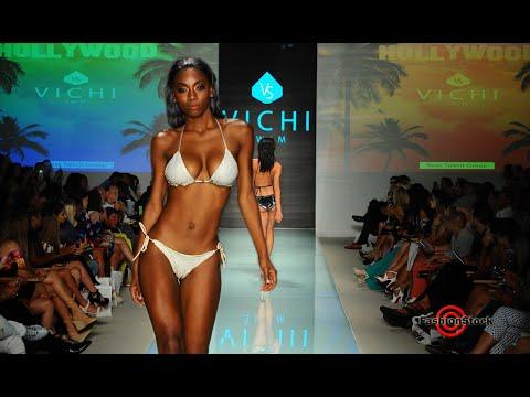 VICHI Swim S/S 2018 Collection Swimsuit Runway Show @ Miami Swim Fashion Week - FUNKSHION.