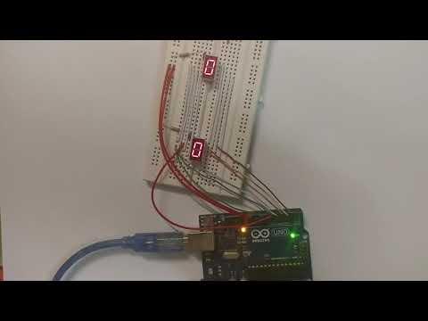 IoT101 Seven segments LED 00-99